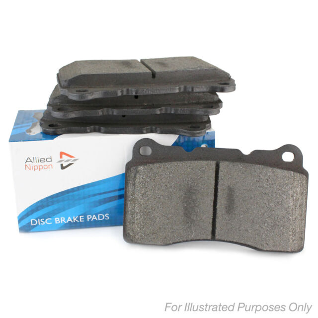 Without Wear Sensor Allied Nippon Front Brake Pads Braking Service Replacement