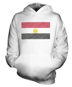 AGYPTEN-KRITZELTE-FLAGGE-KINDER-KAPUZENPULLOVER-HOODIE-JUNGEN-MADCHEN-KLEINKIND