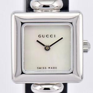 7f0110b175f Auth GUCCI YA019516 serie 1900 Cuarzo Reloj para Mujeres Dial de ...