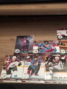 2017-18-UPPER-DECK-UD-SERIES-1-amp-SERIES-2-Colorado-AVALANCHE-TEAM-SET-12-cards