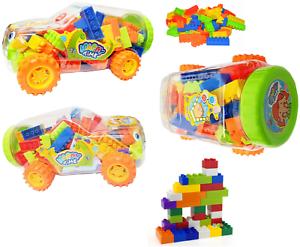 Kids Car Building Blocks Set Construction Toys Play Block Game 3 Size Gift Xmas