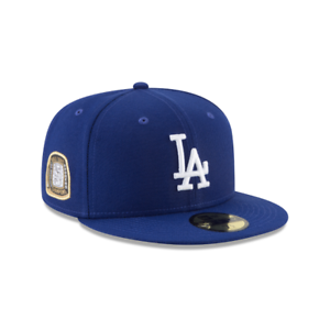 ae95462d07d Los Angeles LA Dodgers New Era MLB Title Trim 59FIFTY Fitted Cap Hat ...