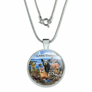 925 Sterling Silver Rhodium-plated Laser-cut University of Nevada Las Vegas Large Pendant w//Necklace 18