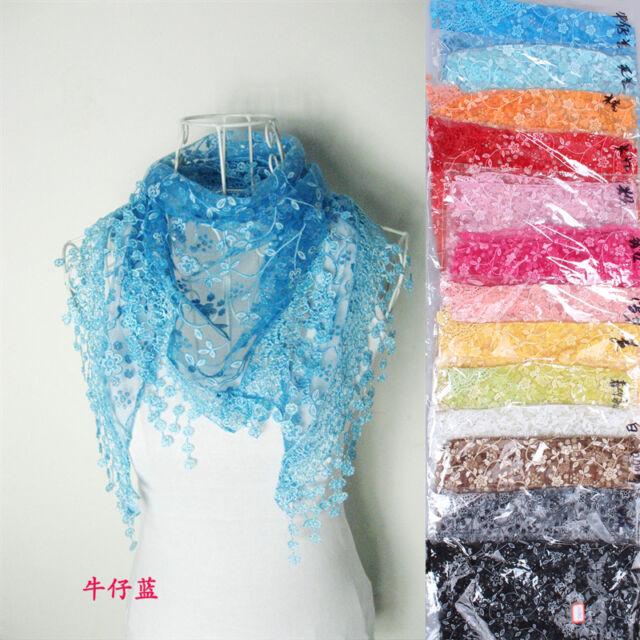 New Fashion Women Long Scarf Wrap Ladies Shawl Girls Large Silk Scarves