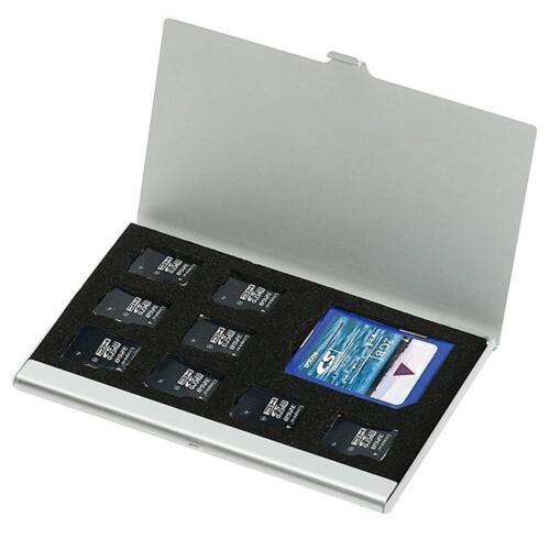 Metal Aluminio Micro TF SD MMC Tarjeta de memoria de soporte de almacenamiento de información piernas caso Prs