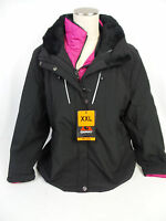 Gerry Women's Heavy Winter Coat + Pink Insulation Jacket Black Us Size L