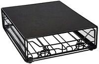 Southern Homewares Keurig Vue Cup Storage Drawer, Holds 36 Vue Pods, Black, New,