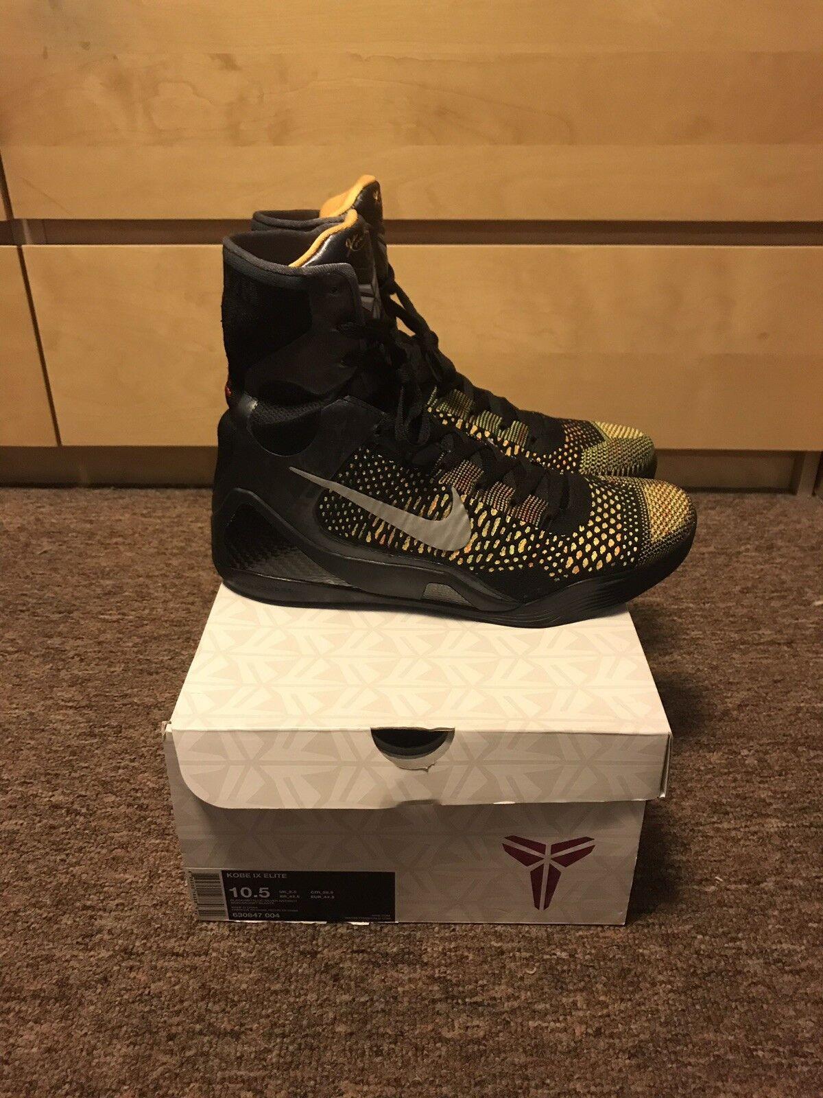 buy online e6f92 f3d4b Nike Kobe IX Elite Inspiration Size Size Size 10.5 88acd9