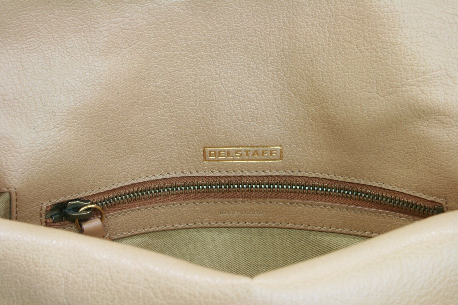 53c10996c5d Belstaff Dorchester Clutch Bag Warm Beige Size Medium Handbag for sale  online | eBay