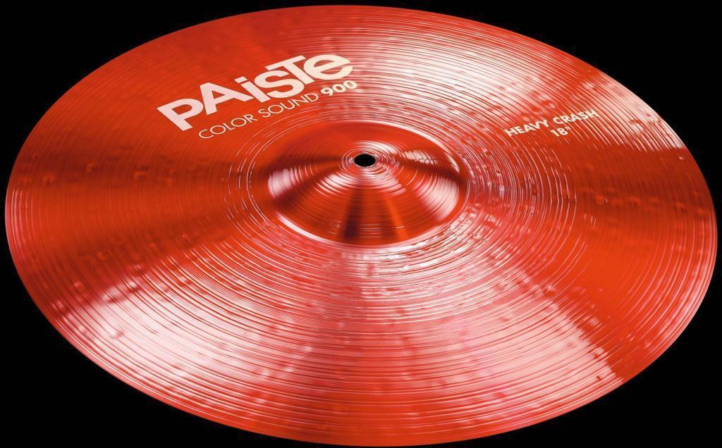 Paiste 900 color Sound Red Heavy Crash 16
