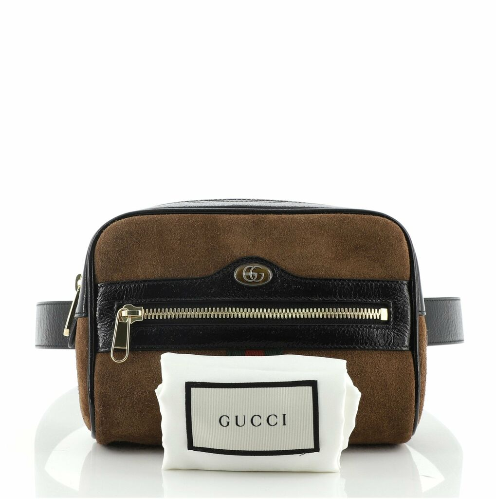 Gucci Ophidia Belt Bag Suede Small 75  | eBay