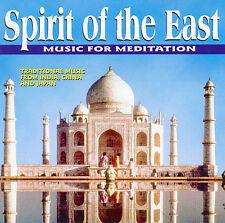 Spirit of the East - Music for Meditation    *** BRAND NEW CD ***
