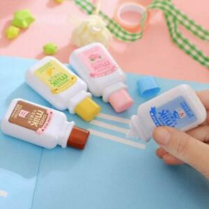 Cute-milk-correction-tape-material-kawaii-stationery-office-school-supplies-New