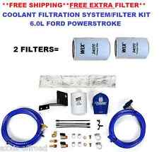 Sinister Coolant Filter Kit Fits Powerstroke 6.0L +2 Filters SD-COOLFIL-6.0-W
