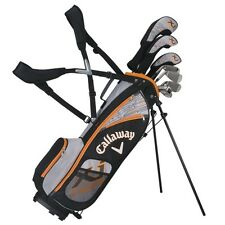 CALLAWAY GOLF XJ JUNIOR HOT 8 PIECE BOY'S COMPLETE SET w/BAG AGES 9-12 -NEW 2016