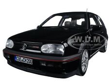1996 VOLKSWAGEN GOLF GTI 20th ANNIVERSARY BLACK METALLIC 1/18 BY NOREV 188415