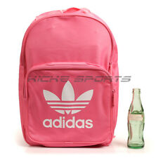 Adidas Originals BP Classic Trefoil Backpack   Bookbag Casual Pink White  BK6725 58049cea55