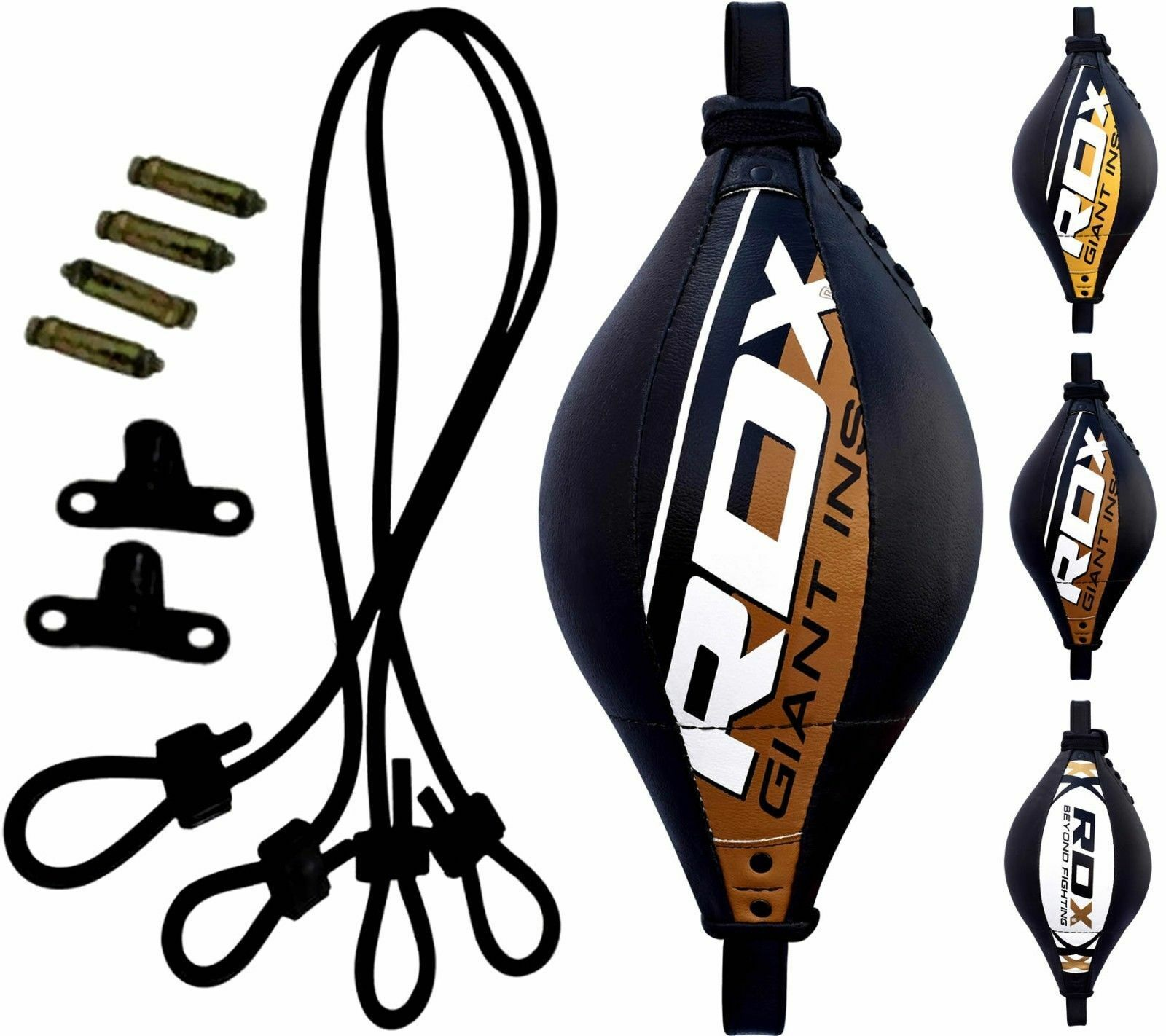 RDX Leather Boxing Speed Ball Double End Dodge Floor to  Ceiling MMA Pun ng CA  enjoy saving 30-50% off