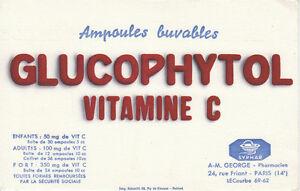 Buvard-Glucophytol-Laboratoires-Syphar
