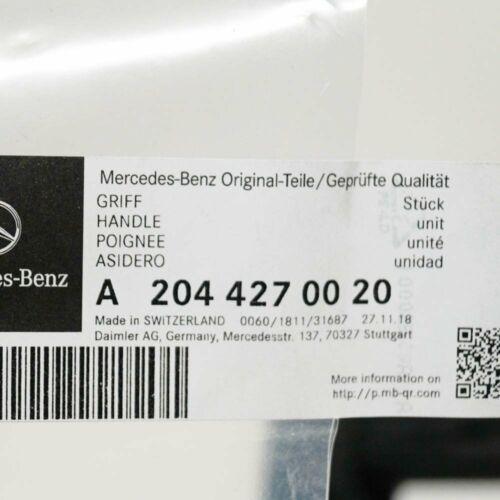 Mercedes-Benz Clase C W204 TIRADOR FRENO DE ESTACIONAMIENTO A2044270020 Genuino Nuevo