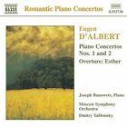 D'Albert: Piano Concertos 1 & 2; Esther Overture (CD, Jun-1998, Naxos (Distributor))