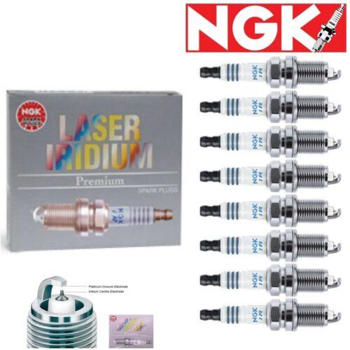 8 pcs NGK Laser Iridium Plug Spark Plugs 1990-1994 Lexus LS400 4.0L V8 Kit Set