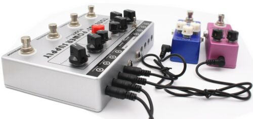 8 Outputs Power Supply in 1 Unit Mosky Audio Tone Bus 3 Effects Pedal 2018