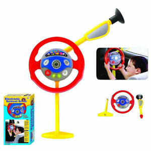 Image Is Loading Kid Electronic Backseat Driver Car Seat Steering Wheel