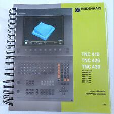 Heidenhain Tnc410 Tnc426 Tnc430 Iso Programming Manual 499 G Code Book