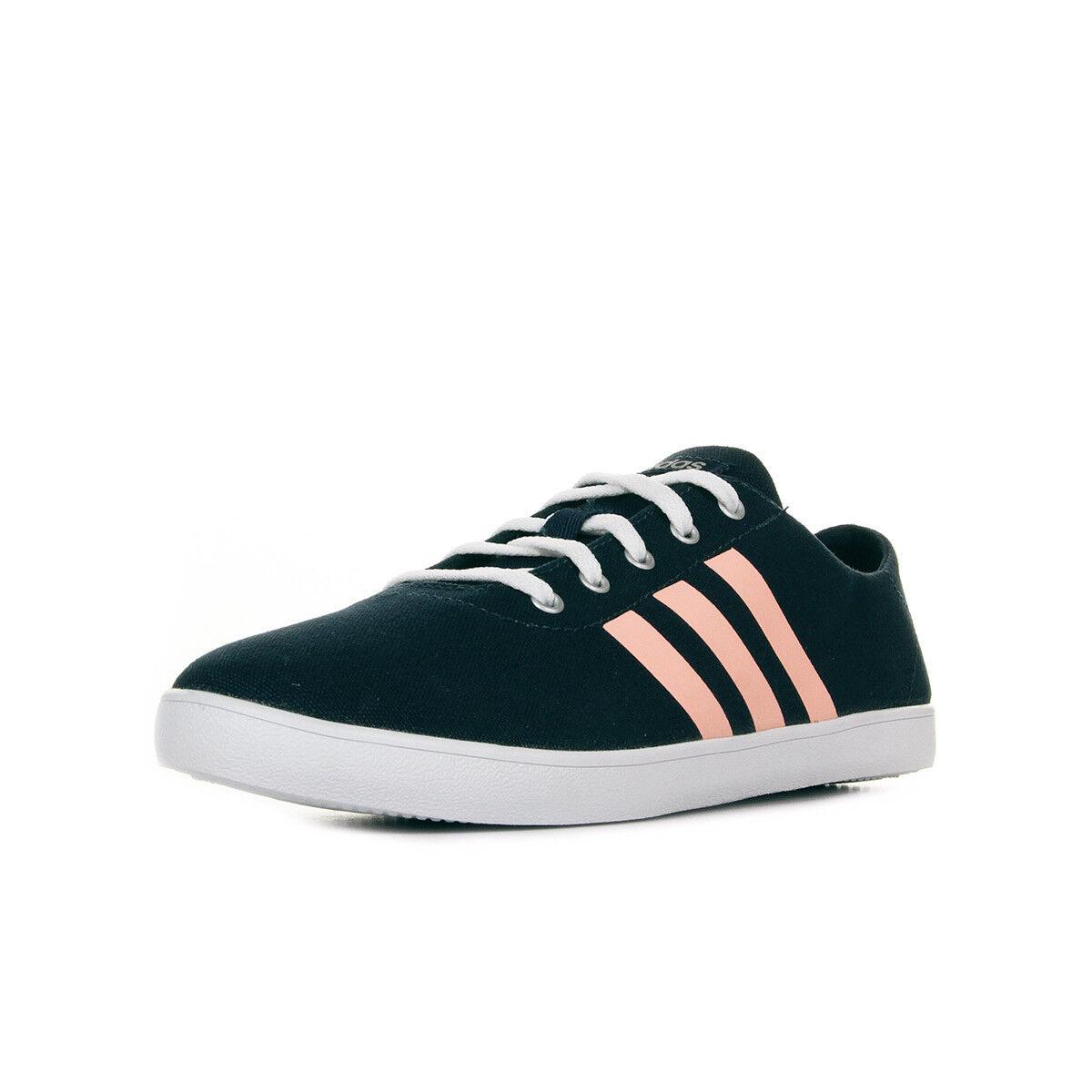 Chaussures Baskets adidas Neo femme Qt Vulc VS W taille Bleu marine Bleue