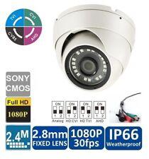 2PCS HDCVI 2.4MP 1080P 2.8-12mm motorized IR-Bullet Camera indoor//outdoor