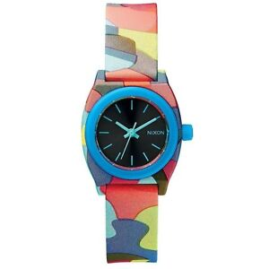 Nixon-A4251988-Small-Time-Teller-P-Neo-Preen-Womens-Analog-Watch