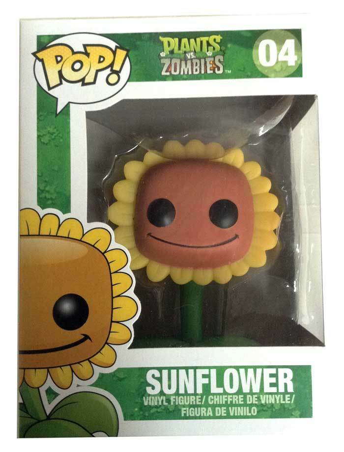 Plants vs Zombies Sunflower Pop  Vinyl Figura NEW Funko