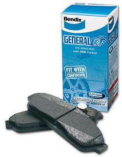 FORD TERRITORY BENDIX GCT FRONT & REAR BRAKE PADS DB1473 GCT & DB1675 GCT