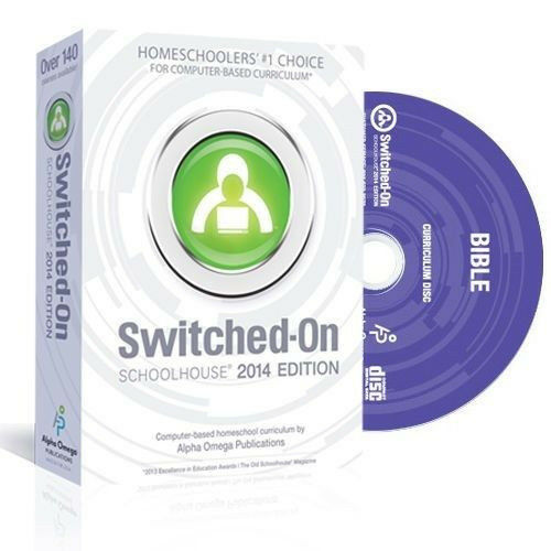 SOS Switched On Schoolhouse Bible Grade 7 2016 Edition With Install CD /&Warranty