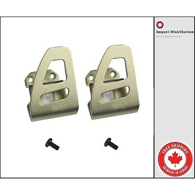 Two Milwaukee Belt Clips M18 Tools 42-70-2653 Suitable For all Drills and Impact