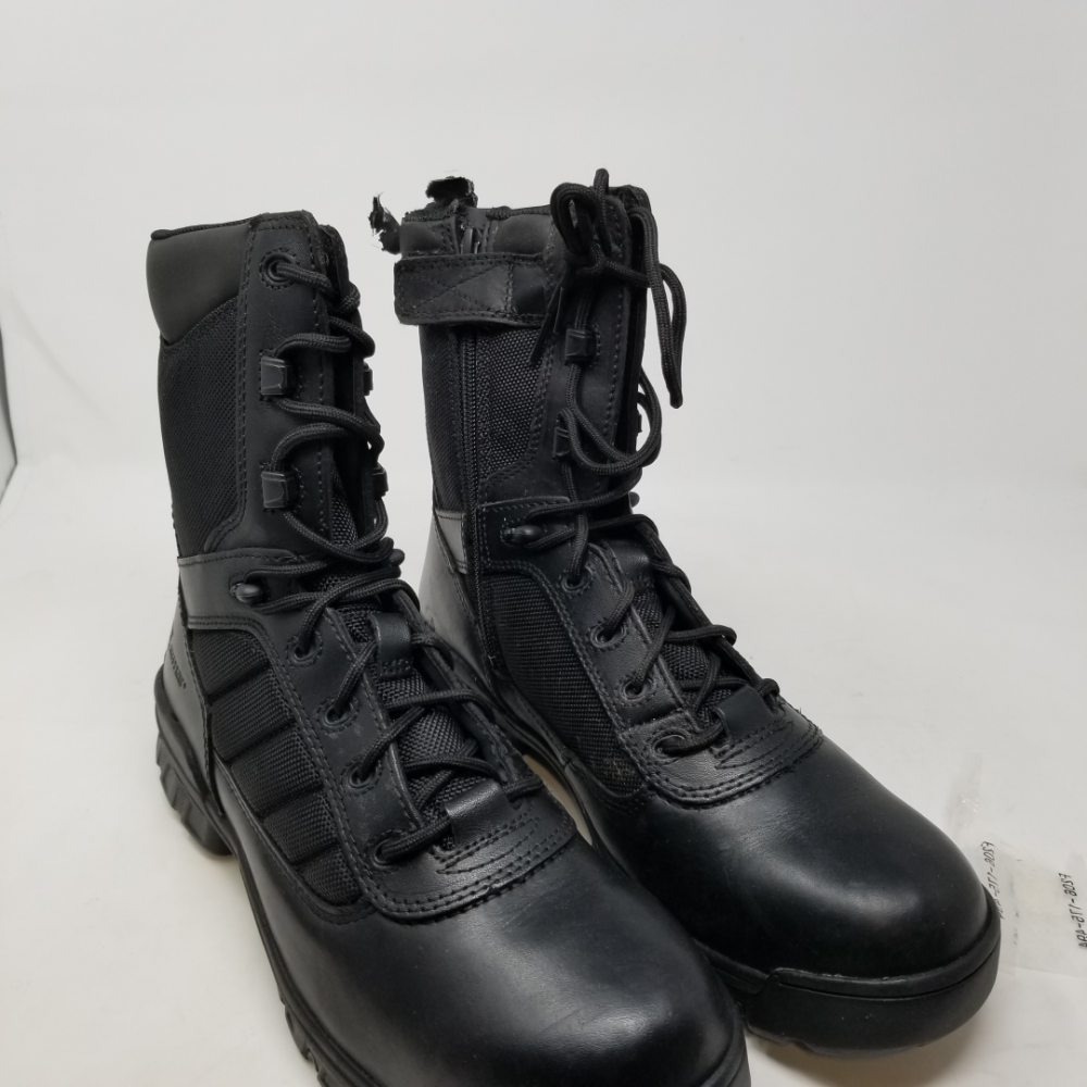 Bates Uomo Ultra-Lites 8 Inches Tactical Sport Side-Zip Boot, Nero, 11.5 M