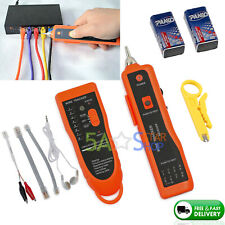 Telephone Lan Network Rj4511 Tester Tracker Cable Wire Finder Tracer Toner Test