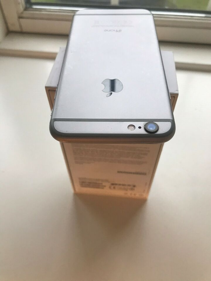 iPhone 6, 16 GB, sort