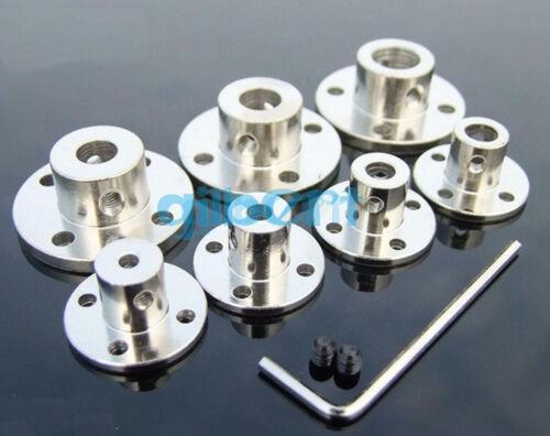 5 I//D 3//4//5//6//7//8//10mm Rigid Flange Coupling Motor Guide Shaft Coupler Motor