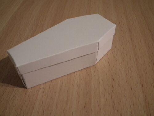 Tim Holtz Sizzix coffin box die cut kit party Favor Halloween gift  cardstock