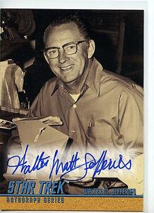 Star-Trek-Walter-M-Jefferies-A65-Mint-Autographed-Card-1998-TOS-S3