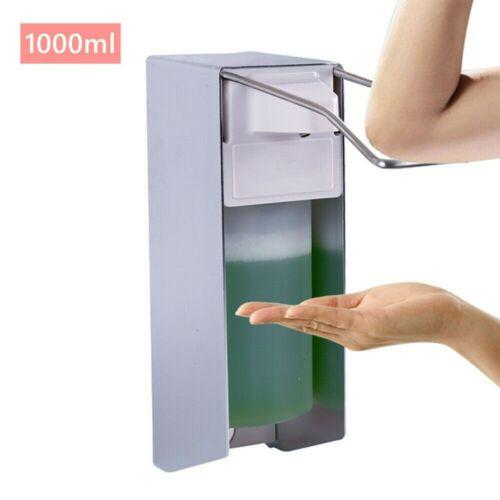 Eurospender Wand Seifenspender Desinfektionsmittelspender Alu 1000 ml Spender