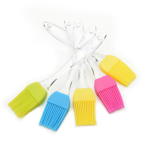 Silicone baking cooking basting Brush Multipurpose kitchen utensil tool LL