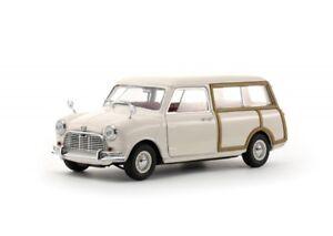 Kyosho-ky08194bl-amp-8194w-Modelo-Austin-Mini-Countryman-Mk-1-Blue-White-1-18-Th