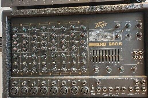 Power Mixer, Peavey XRD680