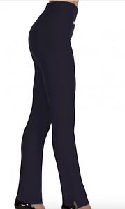Lisette L's Slim Leg Pants Size 2 Navy