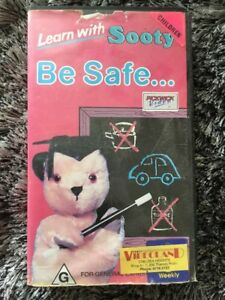 Learn-With-Sooty-Be-Safe-VHS-Tape