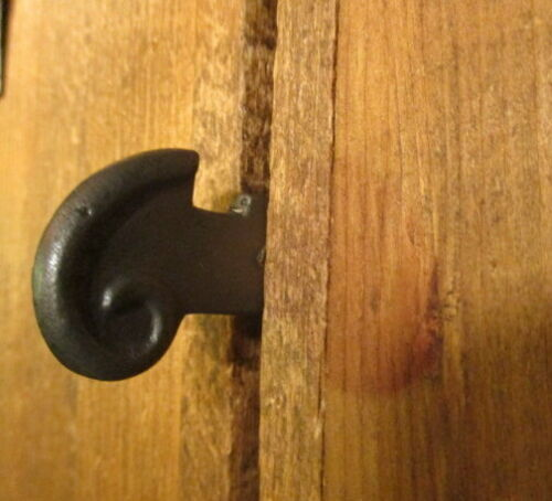 Iron Barn Door Thumb Latch Door Jam Strike Hardware