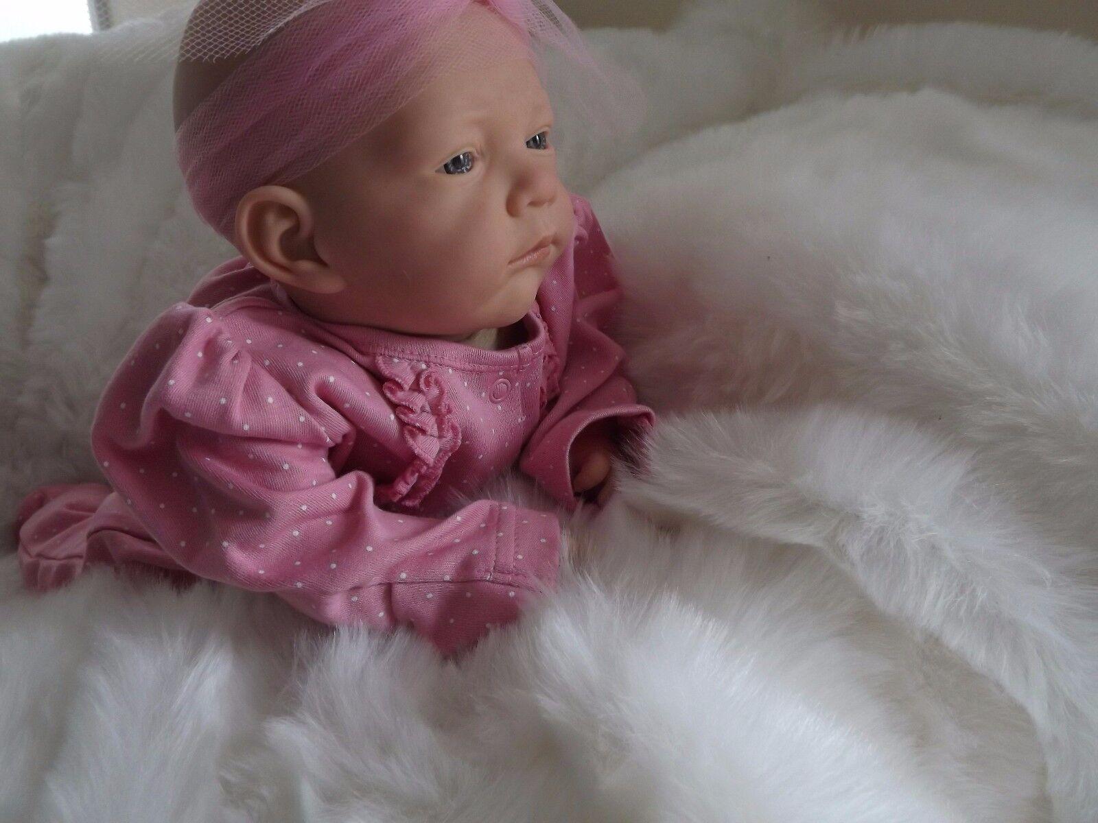 Jane RINATO bambino bambola  maculato Realistico Life Like Bambino Ragazze Compleanno Regalo Di Natale  alta qualità genuina